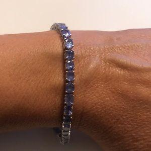 JTV Lavender Amethyst Tennis Bracelet NWOT